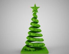december 3D print model Christmas Tree