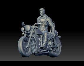 Arnold Schwarzenegger Terminator 3D print model