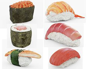 Sushi Collection LITE 3D model