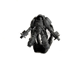 Primaris Inceptor Exhaust Smoke Stand 3D print model