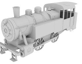 3D model Diesel Locomotive