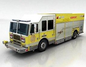 firetruck 2 3D model