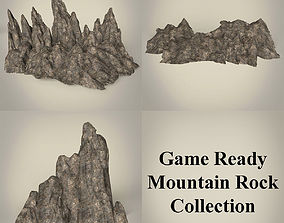 Game Ready Mountain Rock Collection 3D asset