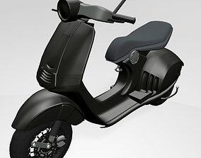 3D Vespa Scooter 01