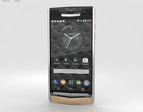 Vertu Signature Touch 2015 Almond Alligator 3D model