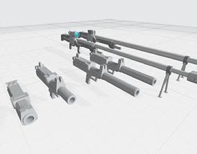 -MHW01-GM spec ops guns 3D printable model