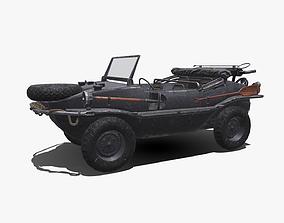 3D asset Volkswagen Schwimmwagen