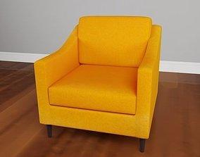 interior 3D Decker Flannel Chair