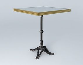 BISTRO TABLE SQUARE 3 3D model