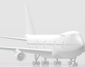 Boeing 747 classic 3D print model