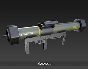 Anti-armor launcher Matador 3D