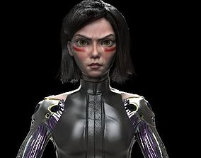 3D model ALITA BATTLE ANGEL full body angel