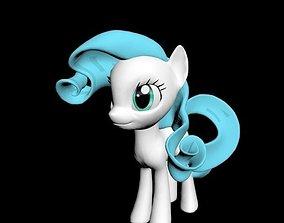3D asset cute Pony