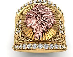 3D print model 368 Indians Ring for men