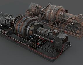 3D PBR Machinery device