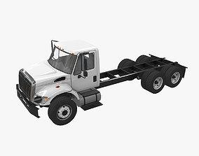 International 7400 Chassis 3D model