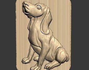 3D a dog decoration