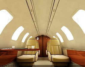 3D Airplane Interior