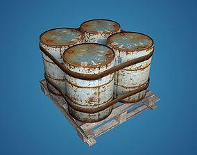 Old Barrels 3D model