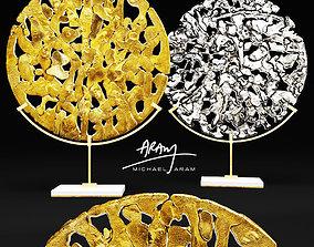 Michael Aram Golden Disk Horchow 3D