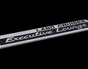 3D print model Land Cruiser Executive Lounge Logo