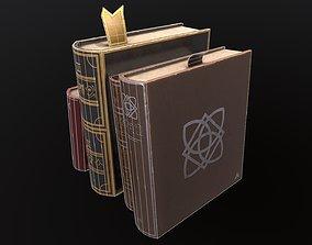Stylized Books 3D model
