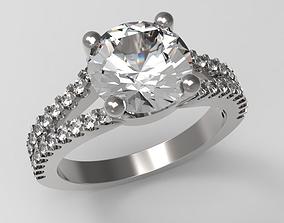 3D print model Wedding Ring Mother Gift art