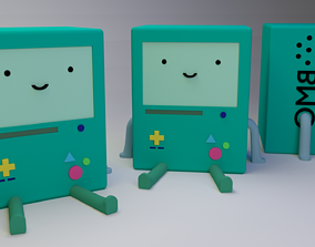 BMO model from Adventure Time for 3d Print