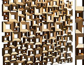 Decorative partition set 12 3D model