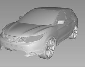 2019 NISSAN ROGUE SPORT 3D Scan Data 3D model 3D print