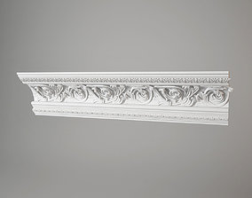 3D torus style carved cornice 459