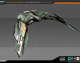 SF Alien Bomber A2 3D model