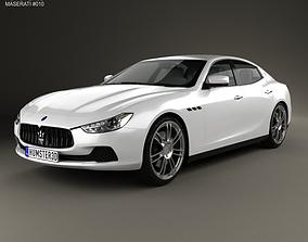 3D Maserati Ghibli III Q4 2013