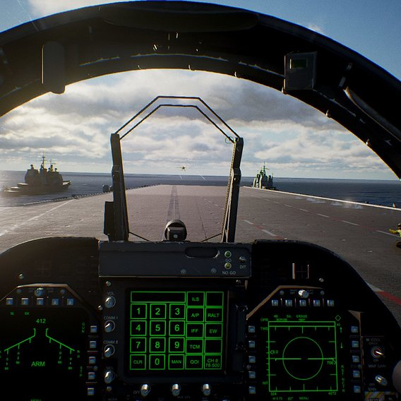 Mission from Aircarrier