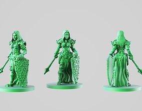 Paladin girl 3D printable model