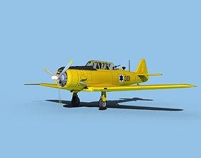 North American AT-6 Texan V18 Israel 3D model