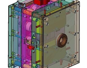 High Detailed 3D Injection Mould
