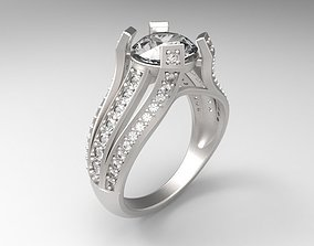 ring jewelry 02 Ring 3D printable model