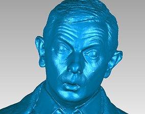 Mr Bean Bust 3D Scan