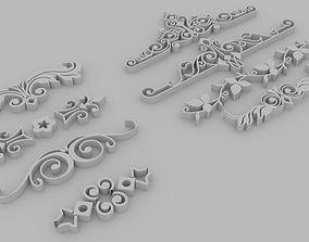 Dividers 03 - Printable set of 8