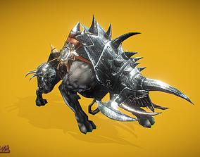 3D asset RPG Hyena 5