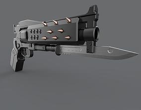 3D print model Crimson Pistol replica D2