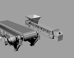 3D model Mining equipments