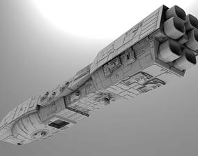 3D model Rendili Class Star Dreadnought - Star