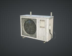 External air conditioner 3D model