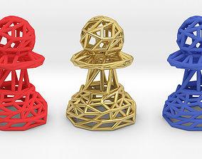 Pawn chess 3D printable model