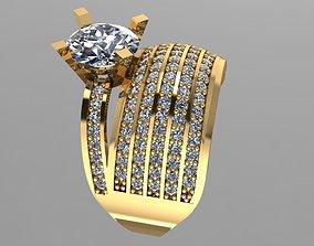 3D printable model GC GOLD TW0139- Diamond ring
