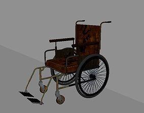 T Wheelchair 3D