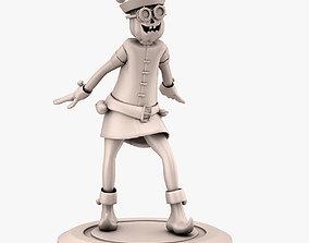 character ELF GNOME 3D PRINT