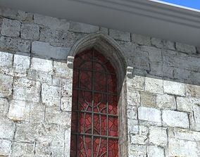 Stained glass window 3D